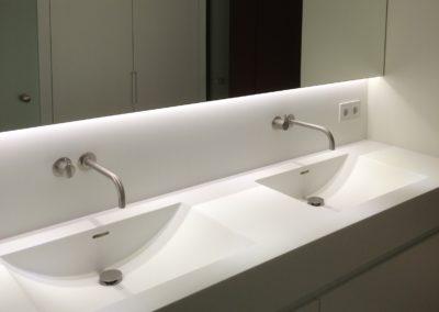 Zolderrenovaties-Oost Vlaanderen-inrichten badkamer