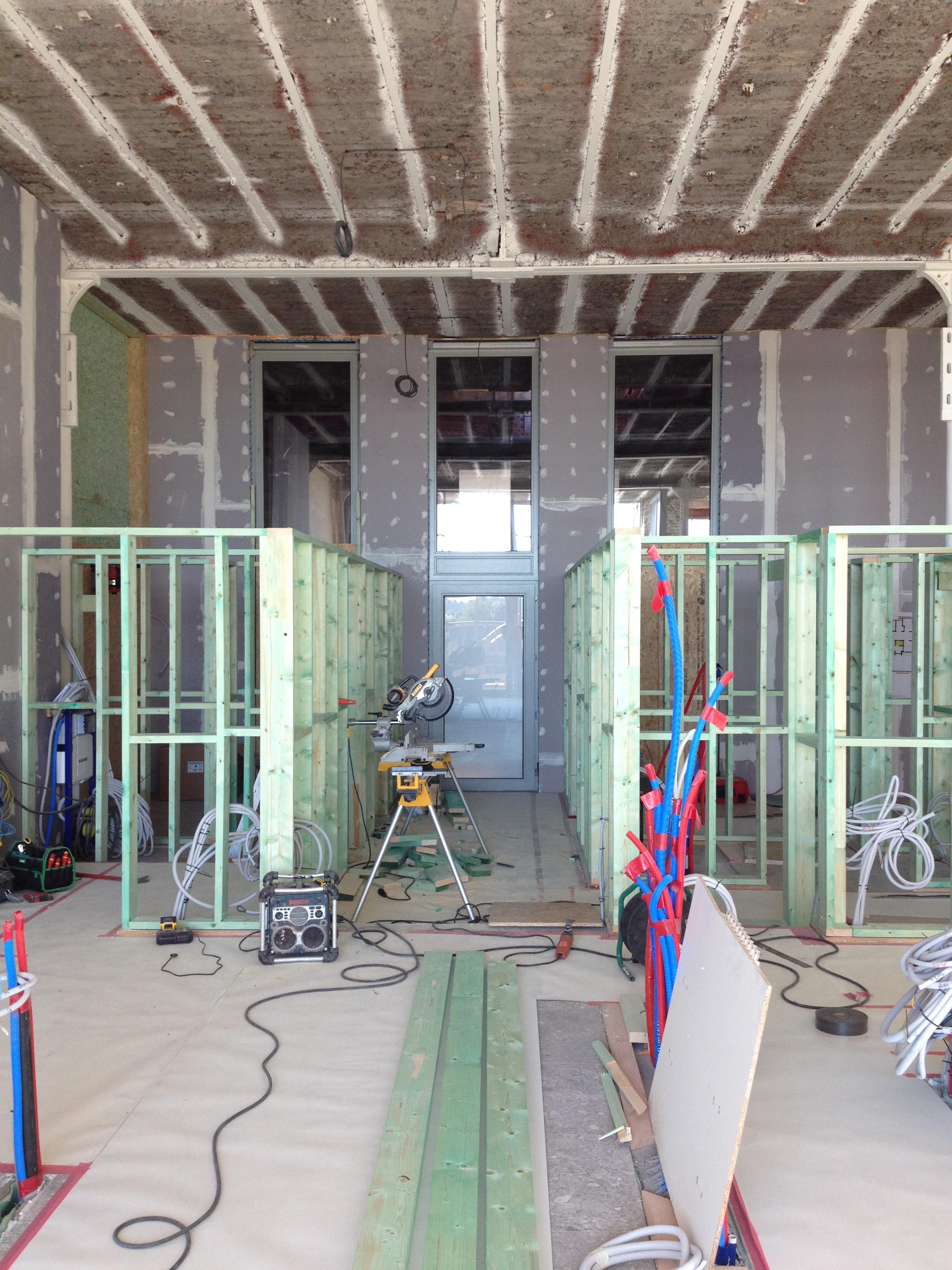 Casco loft Avelgem - West Vlaanderen - indeling ruimte