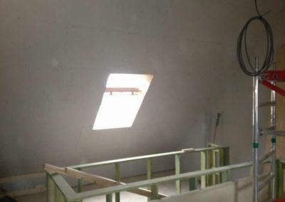 Zolderrenovaties-West Vlaanderen-Kortrijk-Muuropstand